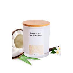 Świeca z wosku sojowego: COCONUT&VANILLA DREAM