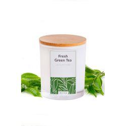 Świeca z wosku sojowego: FRESH GREEN TEA