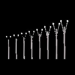 Zestaw dzwonów rurowych - Fibonacci
