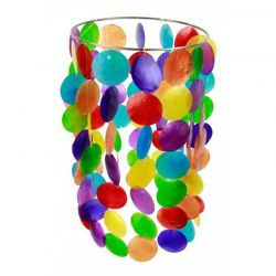 Dzwonki wietrzne z muszli/ różnobarwne
