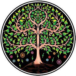 Ręcznik drzewo życia