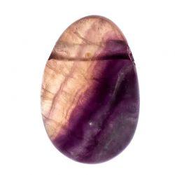 Wisiorek Fluoryt kamień - 2,5-3,5 cm