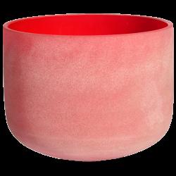 Misa kryształowa czerwona 14 cali - ton C