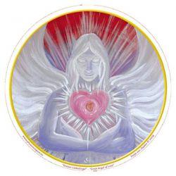 Naklejka na szybę - Anioł Miłości
