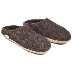 Pantofle wełniane - rozmiar 38