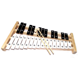 Cymbałki, ksylofon 27-tonowy MATMAX