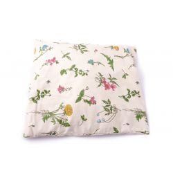 Poduszka mała bawełniana z łuską gryki (zielnik)