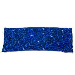 Poduszka duża bawełniana z łuską gryki (jagody)