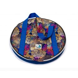 Pokrowiec na gong, bęben szamański 40 cm - Mandala