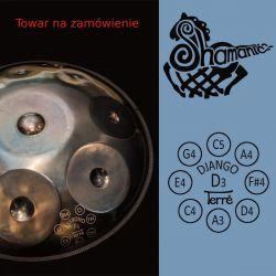 Handpan Terre Shamanic D-Django