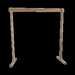 Drewniany statyw na dzwony rurowe