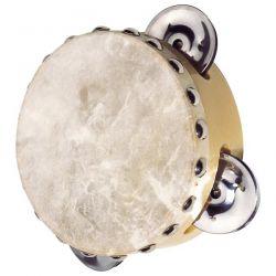 Tamburyn z naciągiem 3 dzwonki GOKI