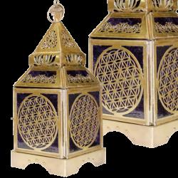 Orientalna lampa Kwiat Życia