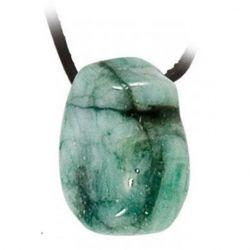 Wisiorek Szmaragd kamień - 2,5 - 3,5 cm