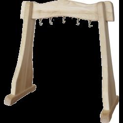 Drewniany statyw na dzwonki Zaphir
